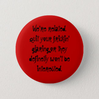 relativity pinback button