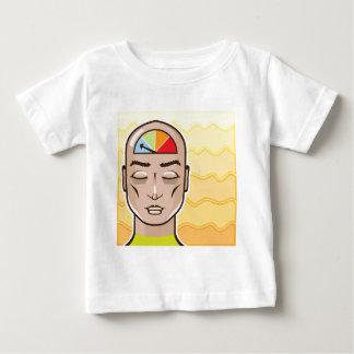Relax Alert gauge meditating person Baby T-Shirt