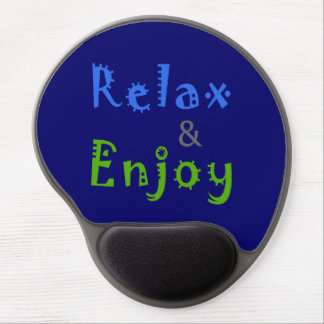 Relax and Enjoy Gel Mouse Pad