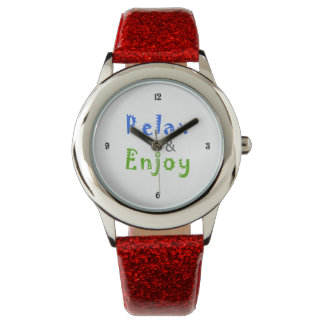 Relax and Enjoy Wrist Watches