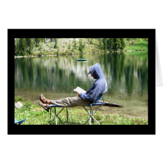 Relax and Enjoy Your Day Greeting Card