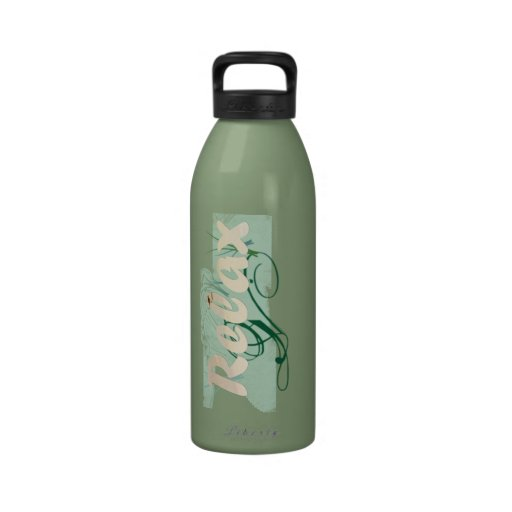 Relax at the Beach Spa Water Bottle