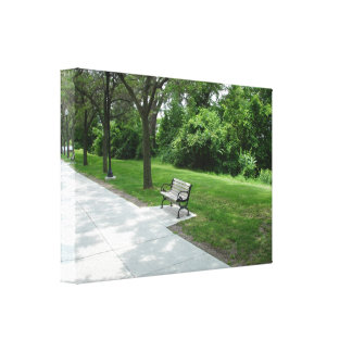 Relax at the Park Canvas Print