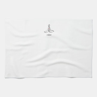 Relax - Black Fancy style Kitchen Towels