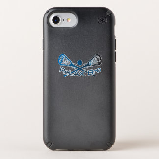 Relax Bro Lacrosse Player Funny Gift Speck iPhone Case
