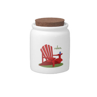 Relax Candy Jar