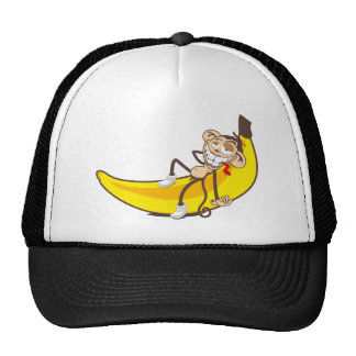 Relax & chill out | ape on banana trucker hat