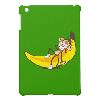 Relax & chill out   ape on banana iPad mini cases
