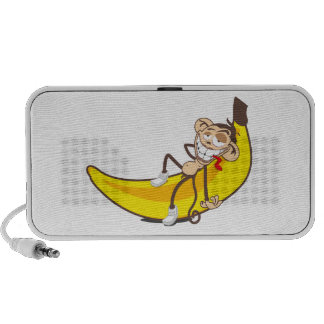 Relax & chill out | ape on banana mini speakers