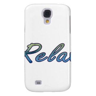 Relax cloud green blue outlined samsung galaxy s4 cases