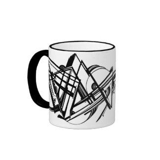 RELAX construct Ringer Coffee Mug