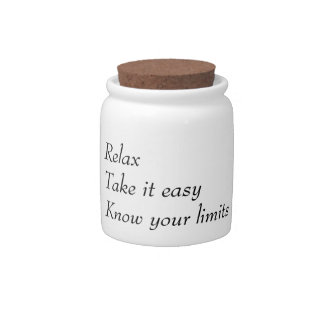 """""""Relax"""" cookie box Candy Jar"""