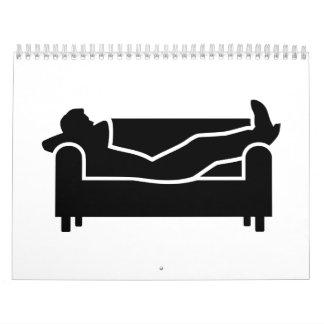 Relax couch calendar