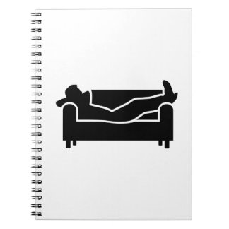 Relax couch notebooks