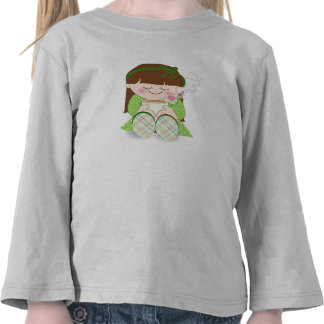 Relax! Cute Kawaii Girl Relaxing with Tea / Coffee T Shirt