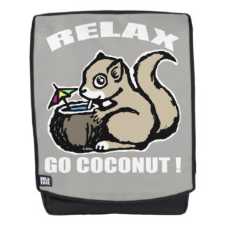 Relax! Go Coconut Backpack