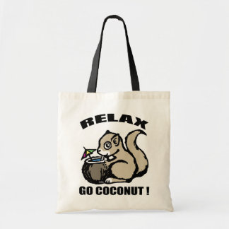 Relax! Go Coconut Tote Bag