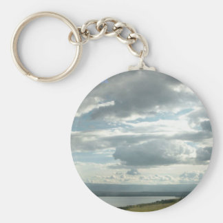 Relax.God is in control. Keychain