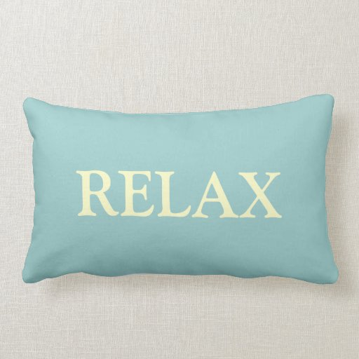 RELAX ~ good dreams Pillow