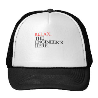 relax mesh hats