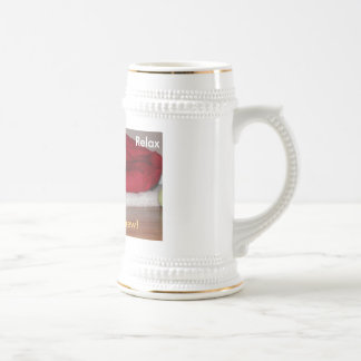 Relax, Have a brew! Beer Stein
