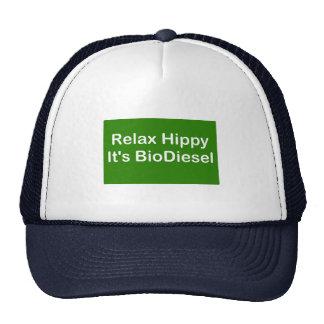 Relax Hippy It's BioDiesel Trucker Hat