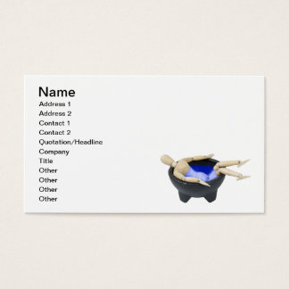 Relax Hot Tub Business Card