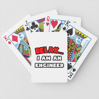 Relax ... I Am An Engineer Bicycle Card Deck