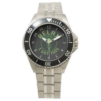 ReLAX I Got This Lacrosse Wrist Watch
