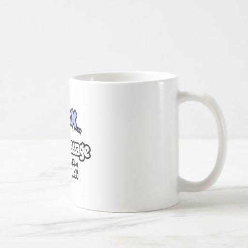 Relax...I'm A Massage Therapist Classic White Coffee Mug