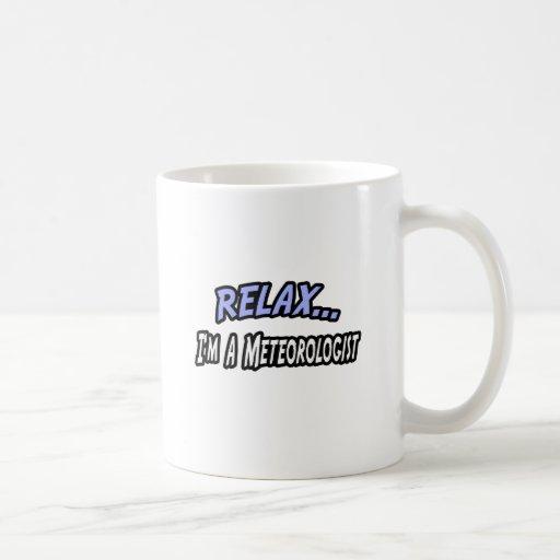 Relax, I'm a Meteorologist Mug