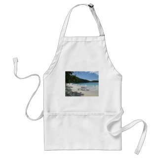 Relax...it's Island Time! Adult Apron