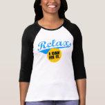 Relax Ladies Raglan Tshirts