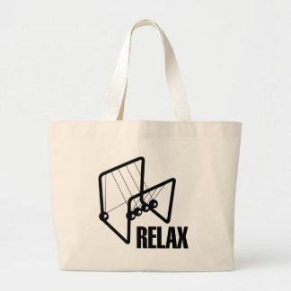 Relax Large Tote Bag