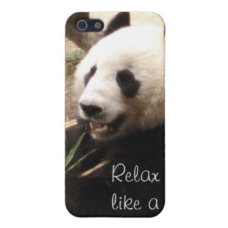 Relax like a panda iPhone SE/5/5s cover