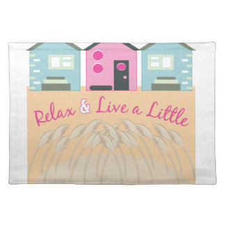 Relax & Live Cloth Placemat