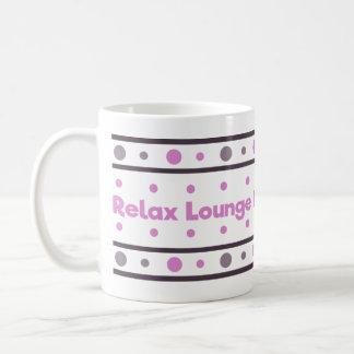 Relax,, lounge, de-stress coffee mug