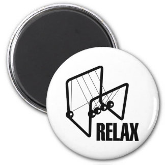 Relax 2 Inch Round Magnet