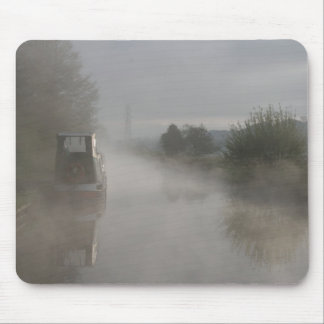 Relax Misty Sunrise Llangollen Canal Mouse Pad