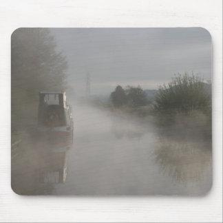 Relax Misty Sunrise Llangollen Canal Mouse Pad