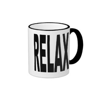Relax Ringer Coffee Mug