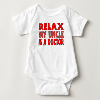 Relax My Uncle Is A Doctor Infant Creeper