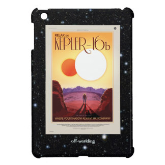 Relax on Kepler 16b holiday advert Case For The iPad Mini
