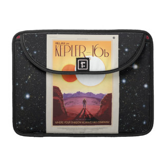 Relax on Kepler 16b holiday advert MacBook Pro Sleeve