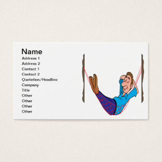 Relax On Labor Day Business Card