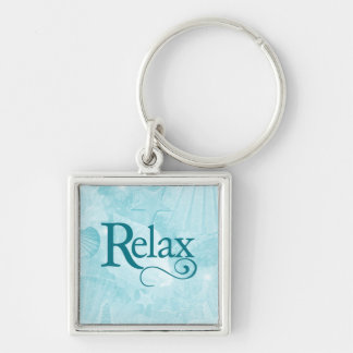 Relax on soothing seashells key chains