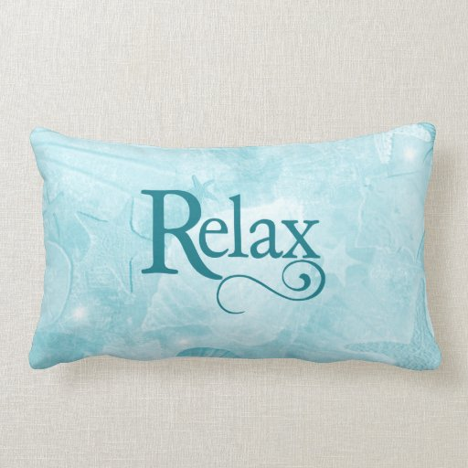Relax on soothing seashells throw pillows