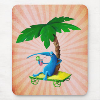 Relax on The Beach Mousepads