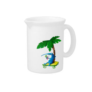 Relax on The Beach Beverage Pitcher