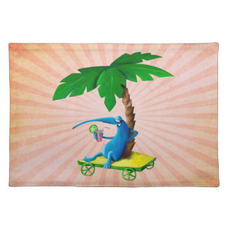 Relax on The Beach Place Mat